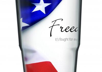 24oz Free Flag