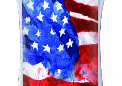 SWB-TRI Watercolor Flag